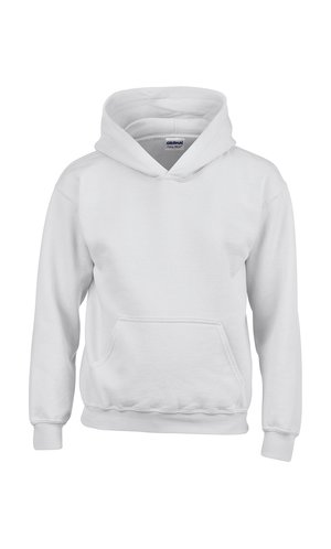 Heavy Blend? Youth Hooded Sweatshirt [White, 104/110]