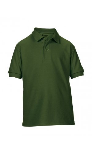 DryBlend® Youth Double Piqué Sport Shirt [Forest Green, 164]