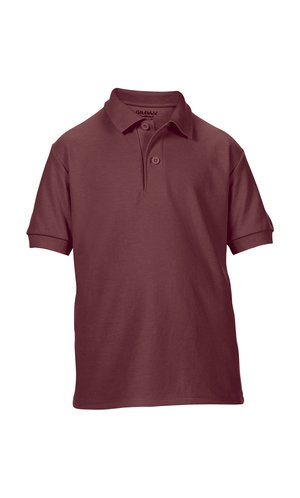 DryBlend® Youth Double Piqué Sport Shirt [Maroon, 152]