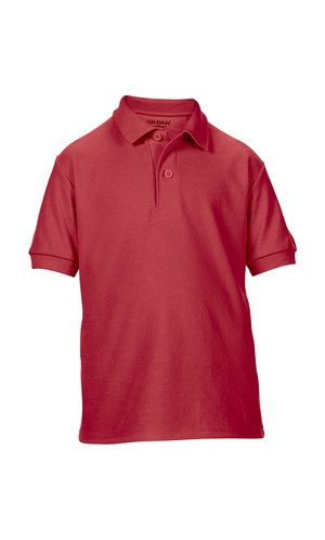 DryBlend® Youth Double Piqué Sport Shirt [Red, 152]