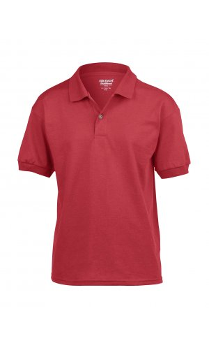 DryBlend® Youth Jersey Polo [Red, 164]