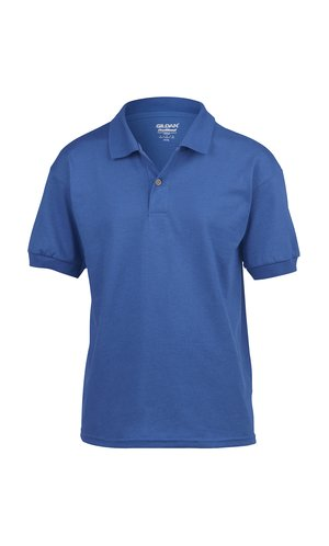 DryBlend® Youth Jersey Polo [Royal, 164]