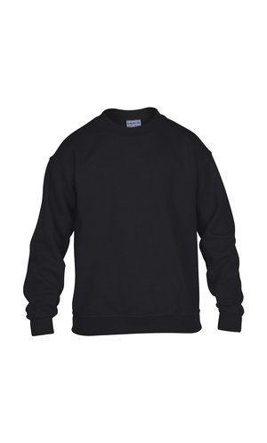 Heavy Blend? Youth Crewneck Sweatshirt [Black, 164]