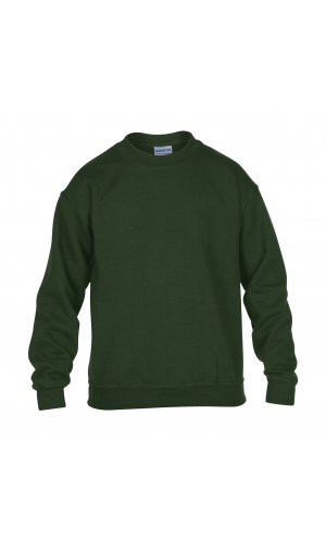 Heavy Blend? Youth Crewneck Sweatshirt [Forest Green, 164]