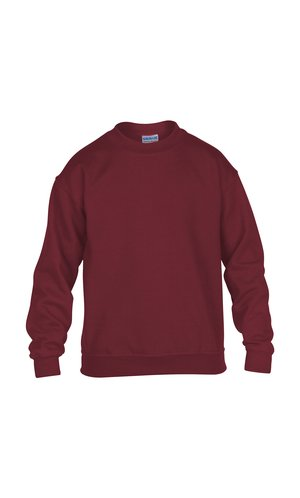 Heavy Blend? Youth Crewneck Sweatshirt [Garnet, 164]