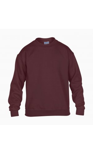 Heavy Blend? Youth Crewneck Sweatshirt [Maroon, 164]