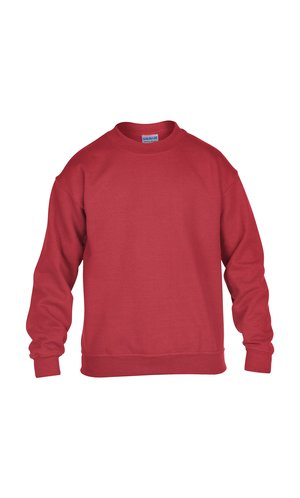 Heavy Blend? Youth Crewneck Sweatshirt [Red, 164]