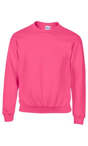 Heavy Blend? Youth Crewneck Sweatshirt [Safety Pink, 164]