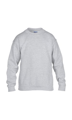 Heavy Blend? Youth Crewneck Sweatshirt [Sport Grey (Heather), 164]