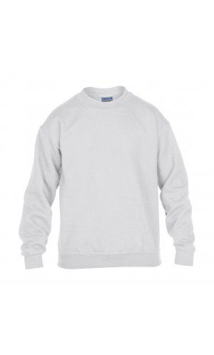 Heavy Blend? Youth Crewneck Sweatshirt [White, 176]