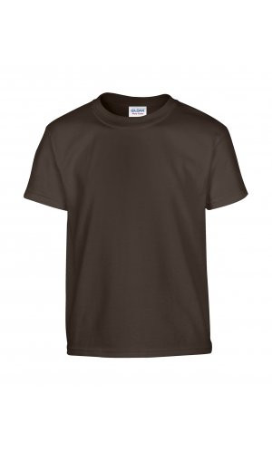 Heavy Cotton? Youth T- Shirt [Dark Chocolate, 164]