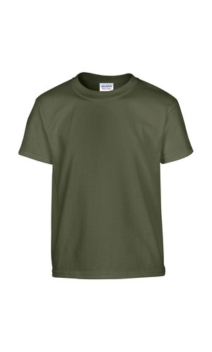 Heavy Cotton? Youth T- Shirt [Military Green, 164]