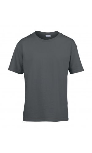 Softstyle® Youth T-Shirt [Charcoal (Solid), 164]