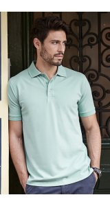 Mens Luxury Stretch Polo