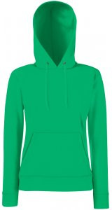 Lady-Fit Hooded Sweat [Maigrün, S]