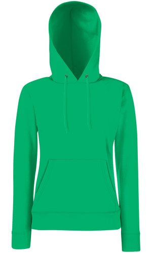 Lady-Fit Hooded Sweat [Maigrün, XL]