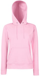 Lady-Fit Hooded Sweat [Rosa, M]