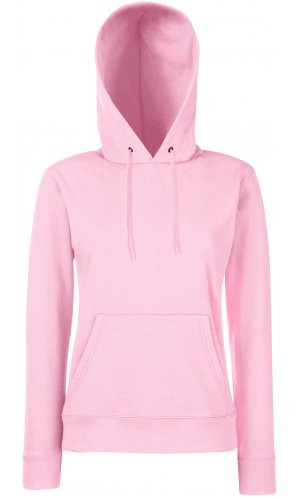Lady-Fit Hooded Sweat [Rosa, S]