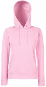 Lady-Fit Hooded Sweat [Rosa, XL]