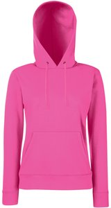 Lady-Fit Hooded Sweat [Fuchsia, L]