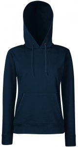 Lady-Fit Hooded Sweat [Deep Navy, M]