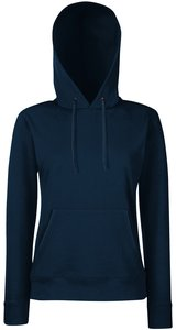 Lady-Fit Hooded Sweat [Deep Navy, S]