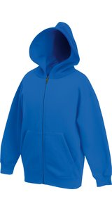 Kids Classic Hooded Sweat Jacket [Royal, 152]