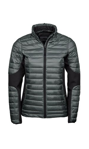 Ladies Crossover Jacket [Space Grey Black, S]