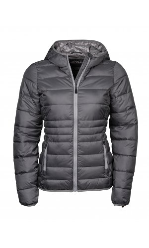 Ladies Hooded Zepelin Jacket [Space Grey Grey, S]