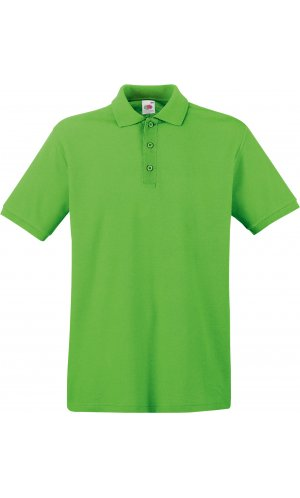 Premium Polo [Lime, XL]