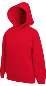 Kids Classic Hooded Sweat [Rot, 128]