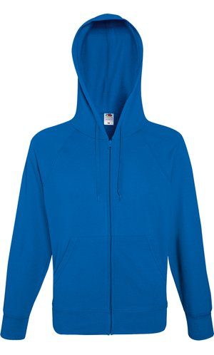 Lightweight Hooded Sweat Jacket [Royal, M]