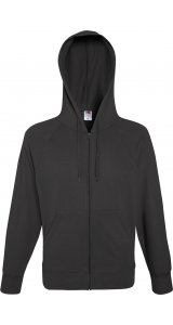 Lightweight Hooded Sweat Jacket [Graphit, L]
