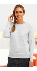 Lady Fit Lightweight Raglan Sweat