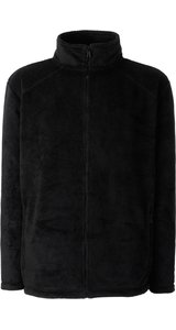 Full Zip Fleece Jacket [Schwarz, 2XL]