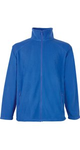 Full Zip Fleece Jacket [Royal, XL]