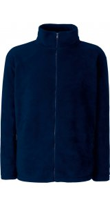 Full Zip Fleece Jacket [Deep Navy, L]