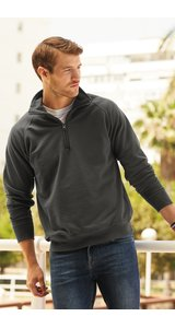 Lightweight Zip Neck Sweat