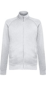 Lightweight Sweat Jacket [Graumeliert, M]