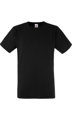 Fitted Valueweight T [Schwarz, 2XL]