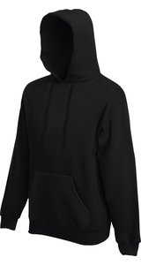 Premium Hooded Sweat [Schwarz, L]