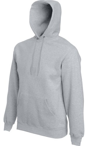 Premium Hooded Sweat [Graumeliert, S]