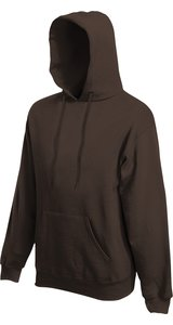 Premium Hooded Sweat [Braun, XL]