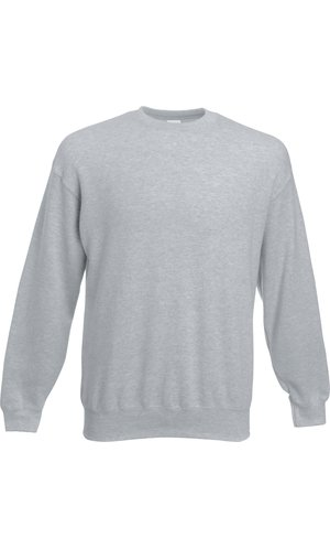 Premium Set-In Sweat [Graumeliert, S]