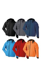 Mens Winter Softshell Jacket