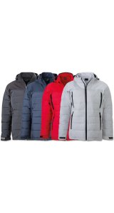Mens Outdoor Hybrid Jacket