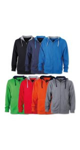 Mens Lifestyle Zip-Hoody
