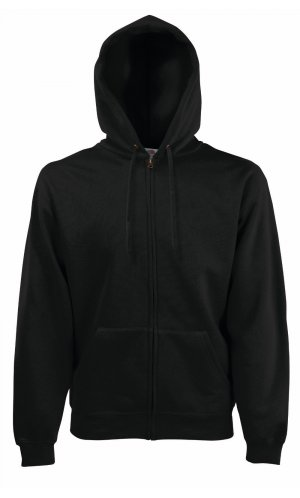 HOODED JACKET CLASSIC, Fotl   [SCHWARZ, S]