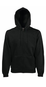 HOODED JACKET CLASSIC, Fotl   [SCHWARZ, L]