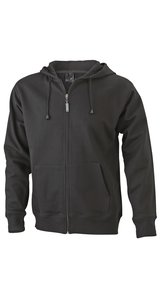 Mens Hooded Jacket [black, S]